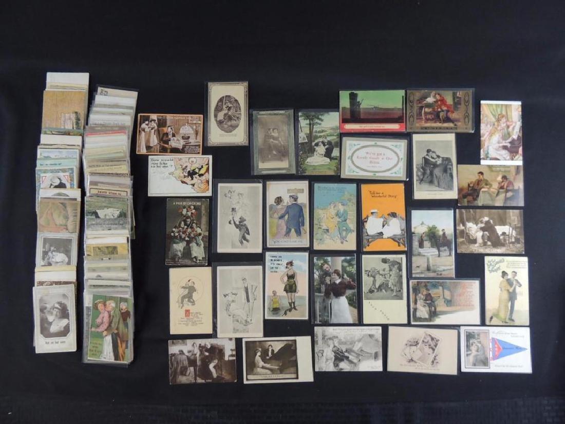 Approximately 300 Plus Romance Postcards