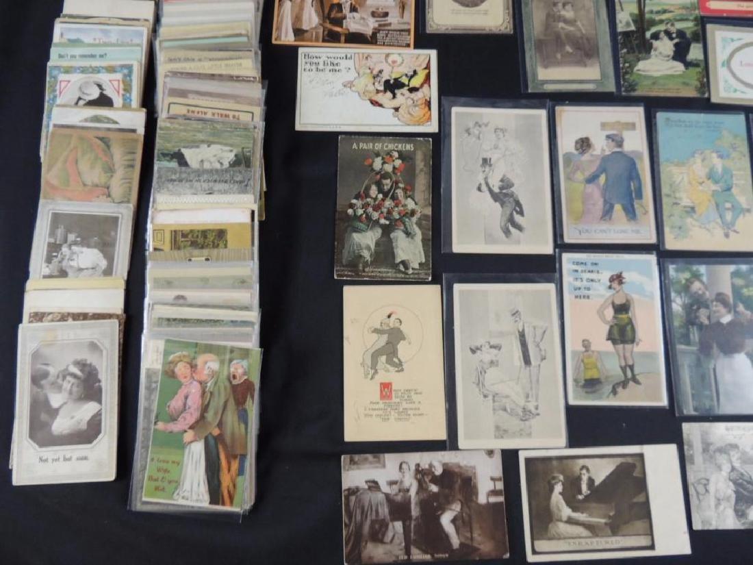 Approximately 300 Plus Romance Postcards - 4