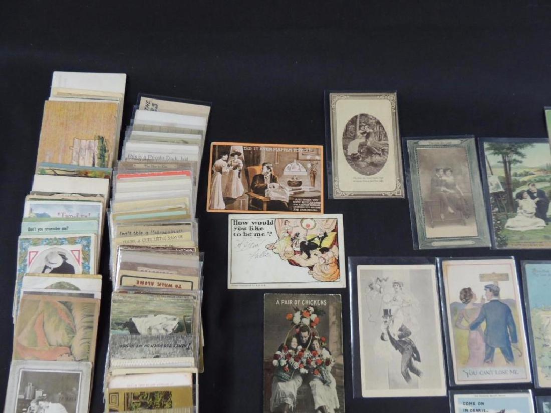 Approximately 300 Plus Romance Postcards - 5