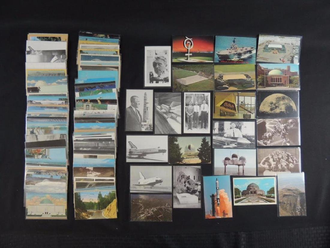 Approximately 120 Plus Space Postcards