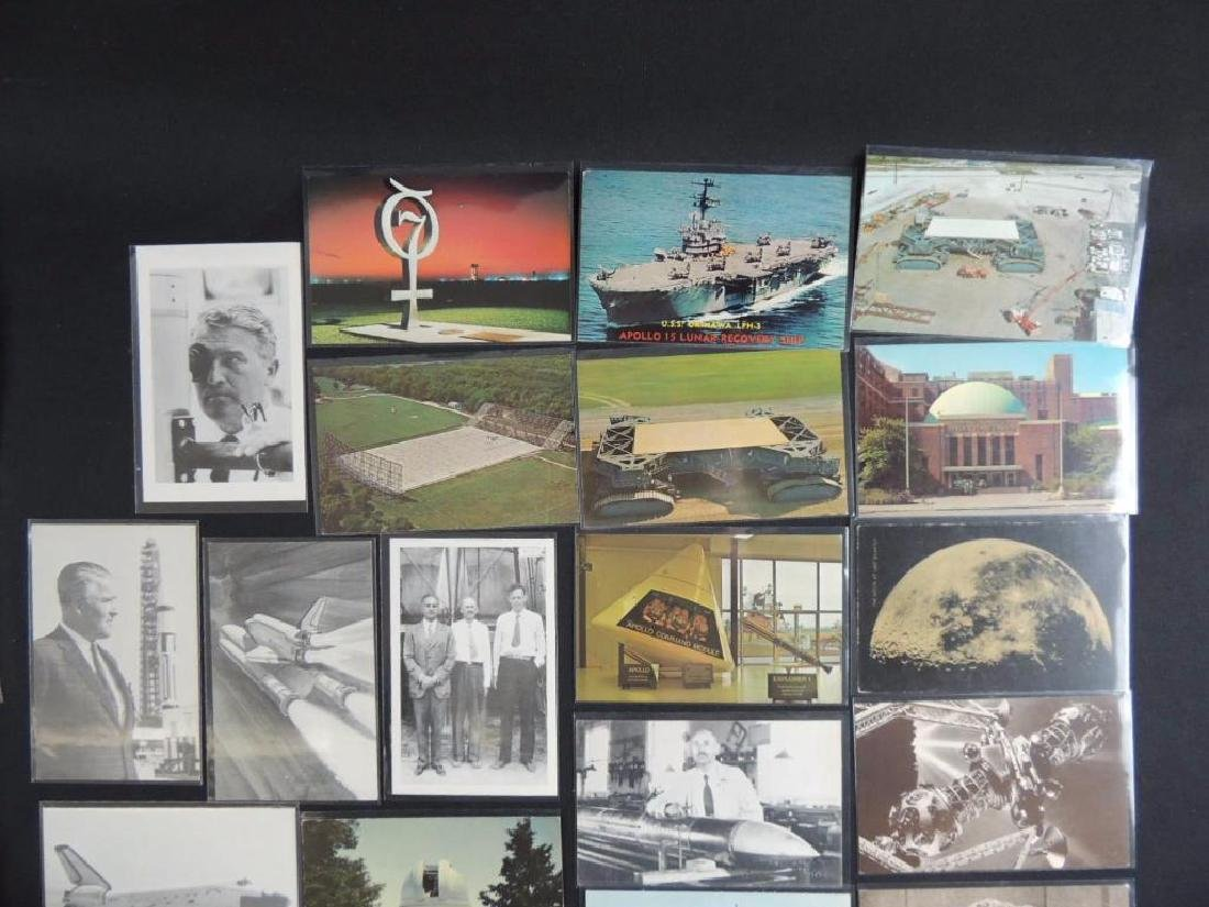 Approximately 120 Plus Space Postcards - 2
