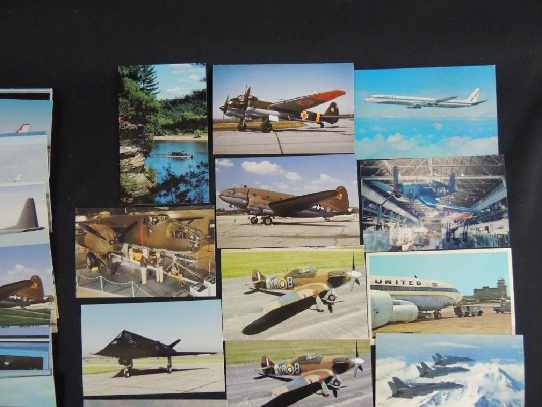 Approximately 50 Plus Airplane Postcards - 2