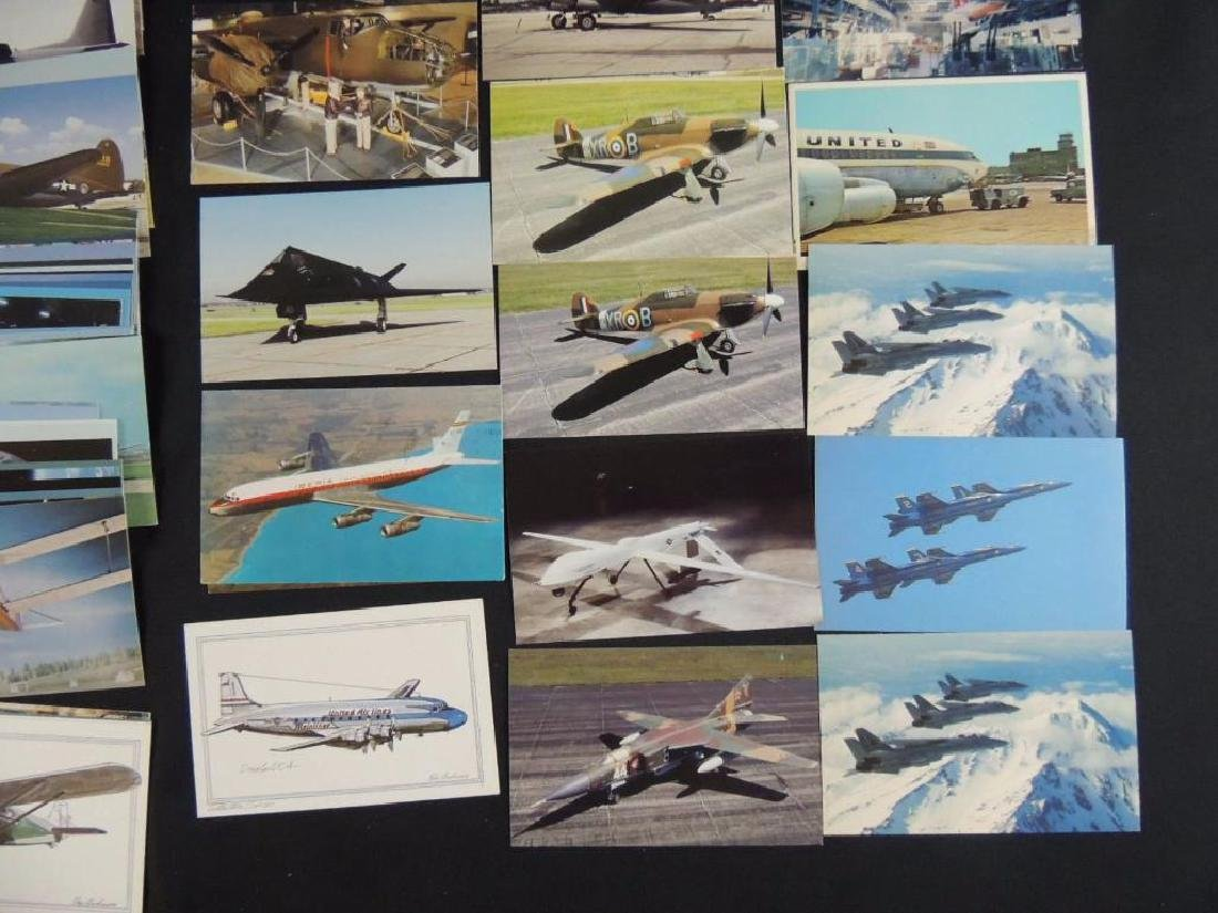 Approximately 50 Plus Airplane Postcards - 3