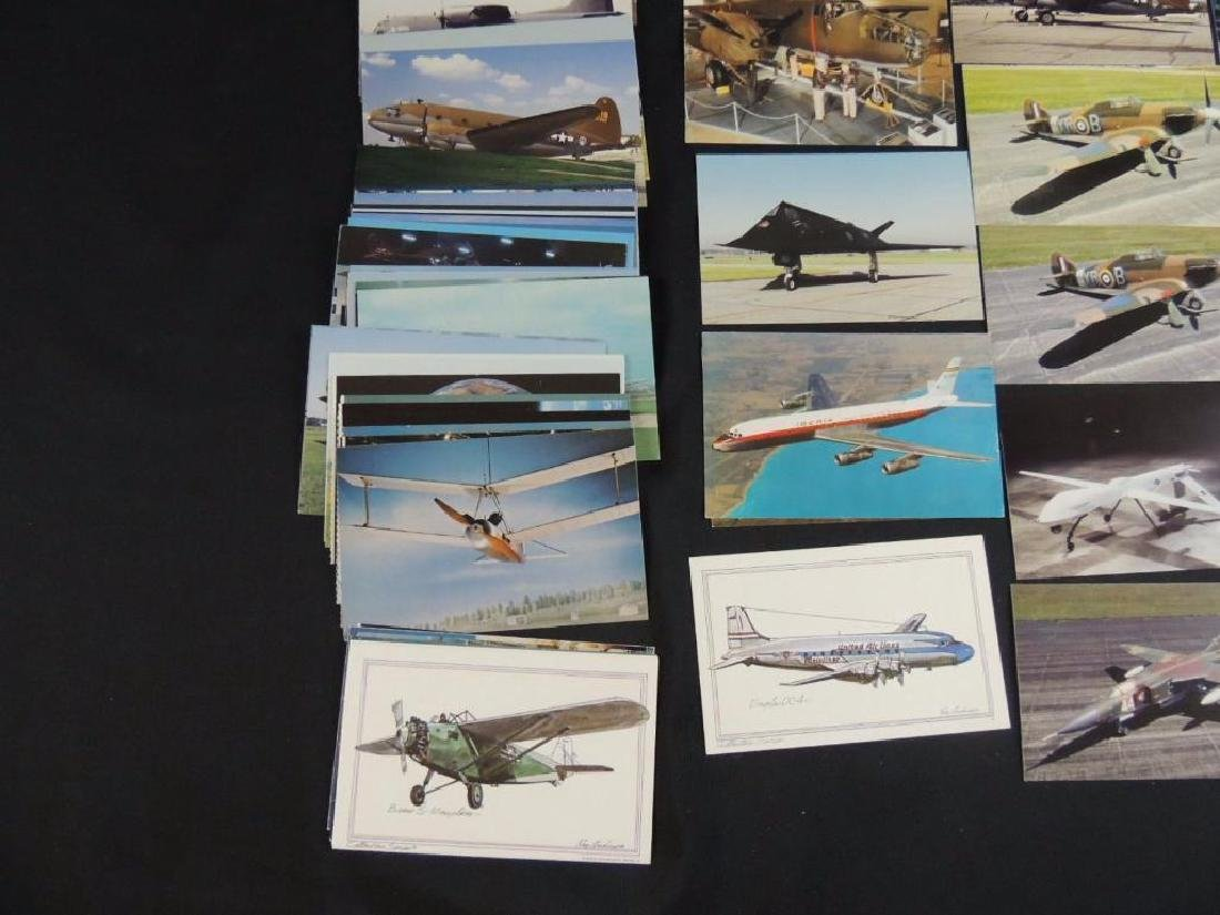 Approximately 50 Plus Airplane Postcards - 4