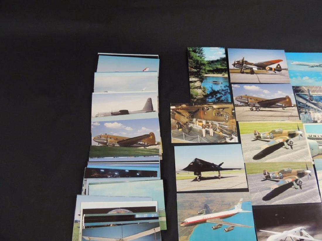 Approximately 50 Plus Airplane Postcards - 5