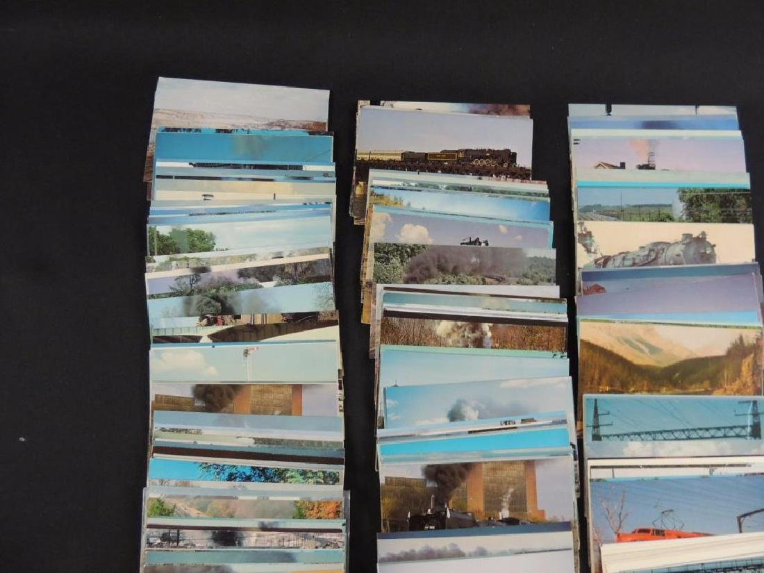 Approximately 300 Plus Train and Railroad Postcards - 5