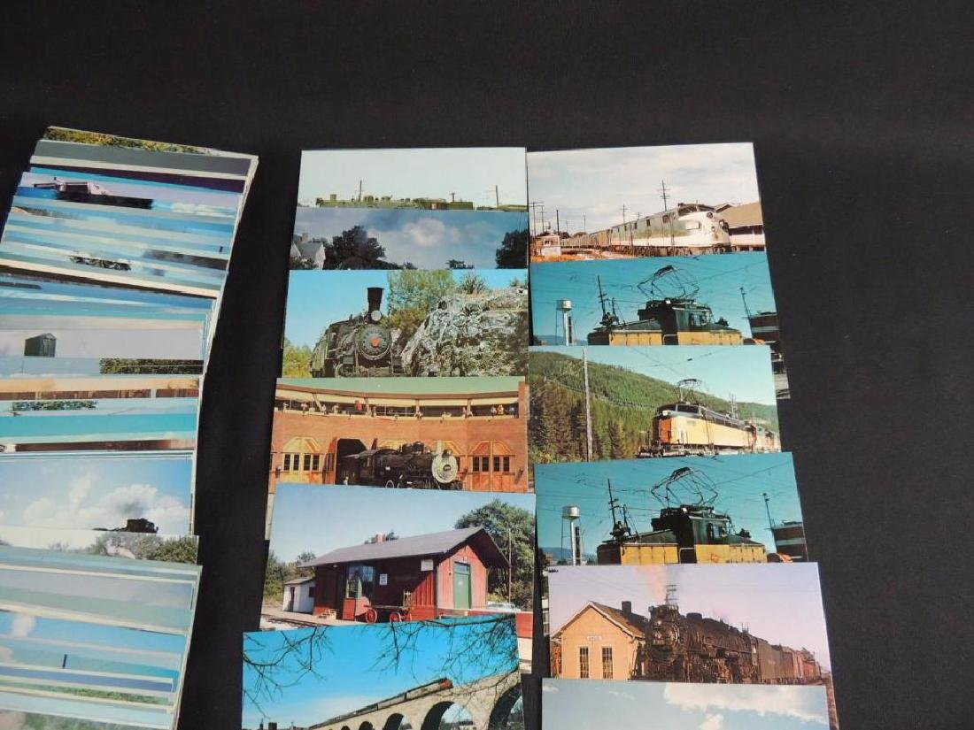 Approximately 300 Plus Train and Railroad Postcards - 3