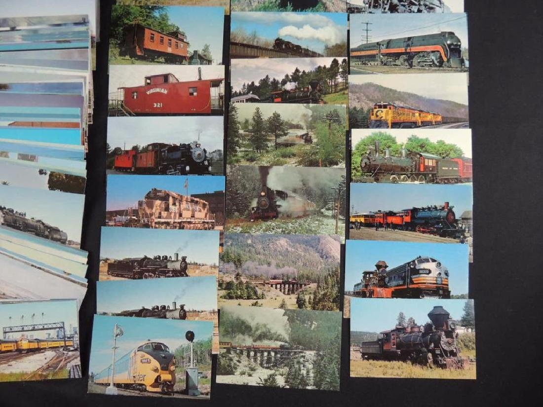 Approximately 400 Plus Train and Railroad Postcards - 3