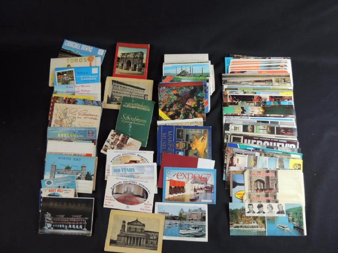 Group of U.S. and Foreign Souvenir Postcard Folders