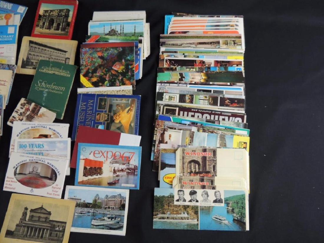 Group of U.S. and Foreign Souvenir Postcard Folders - 2