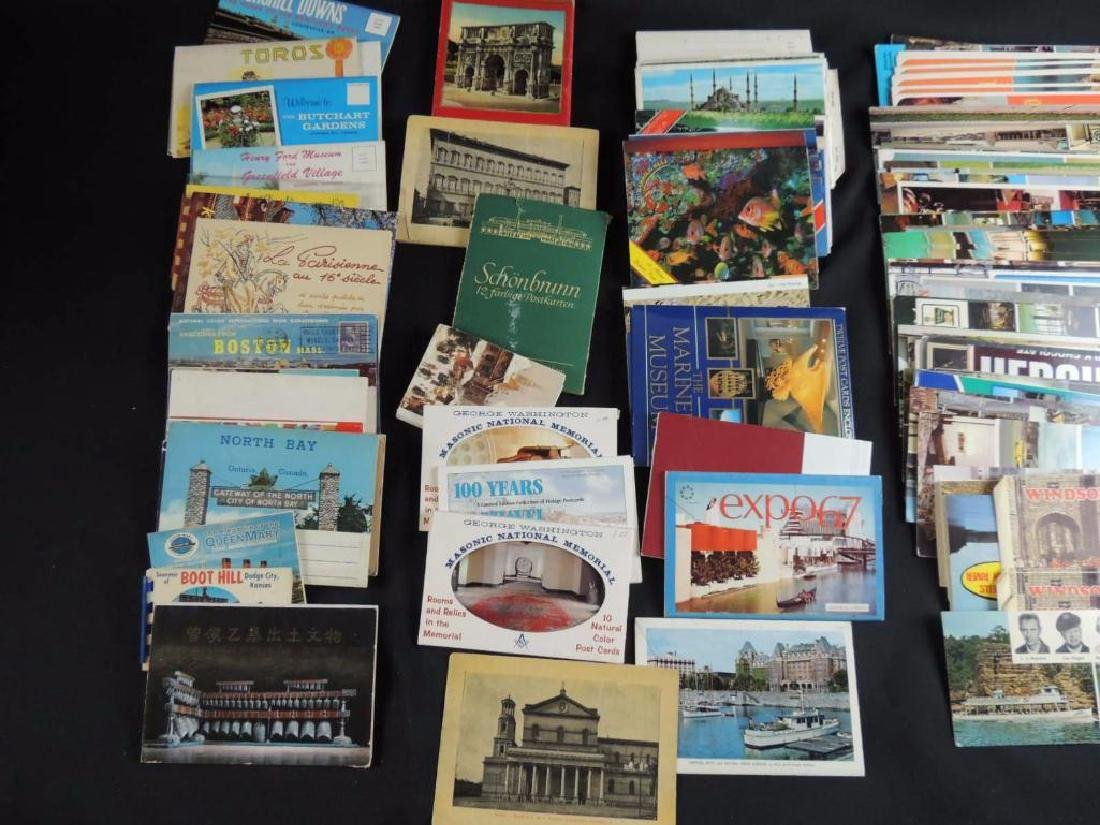 Group of U.S. and Foreign Souvenir Postcard Folders - 3