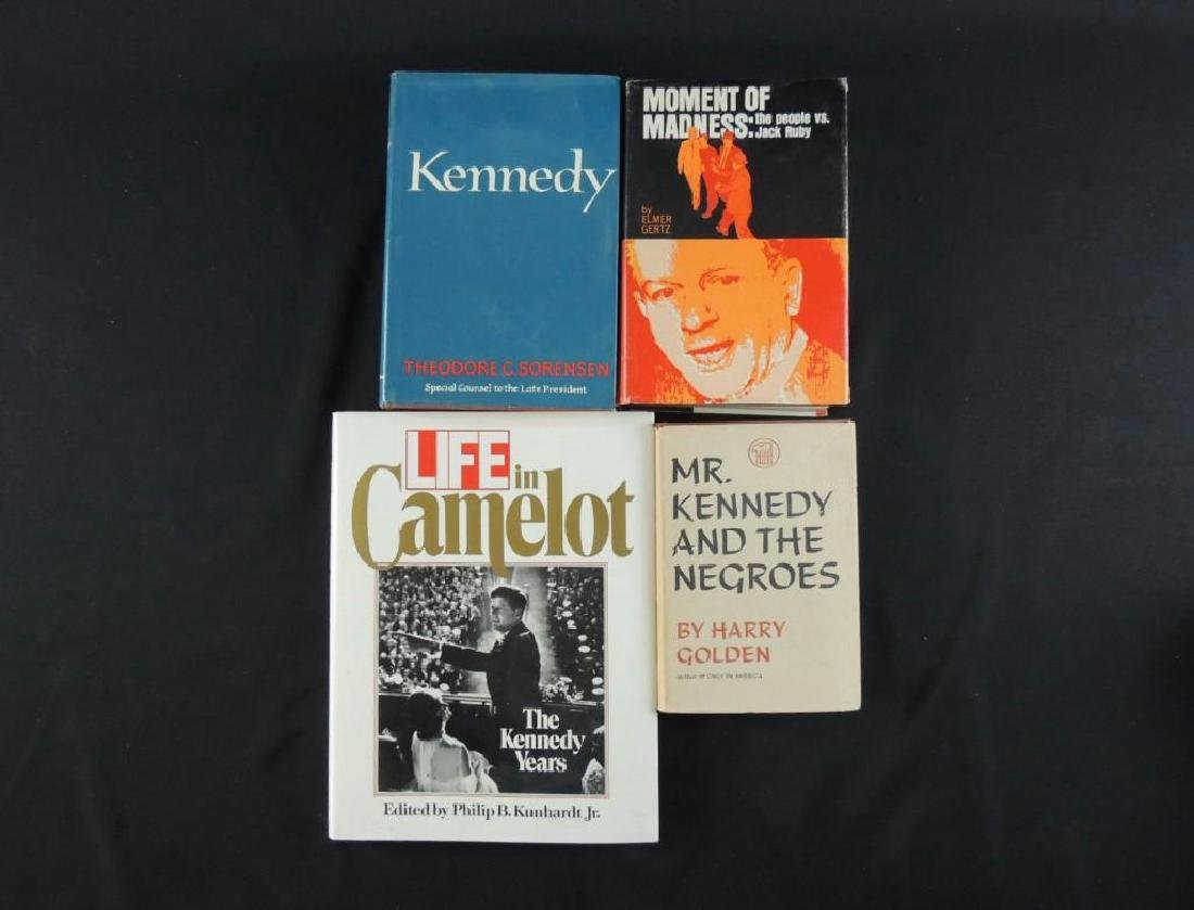 """Group of 4 Vintage J.F.K Books Featuring """"Mr. Kennedy"""