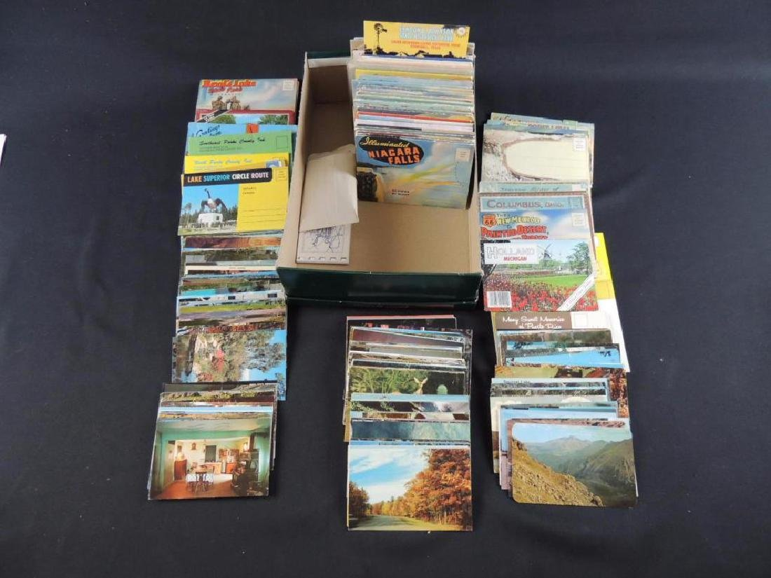 Group of Approximately 200 Plus Souvenir Folders and