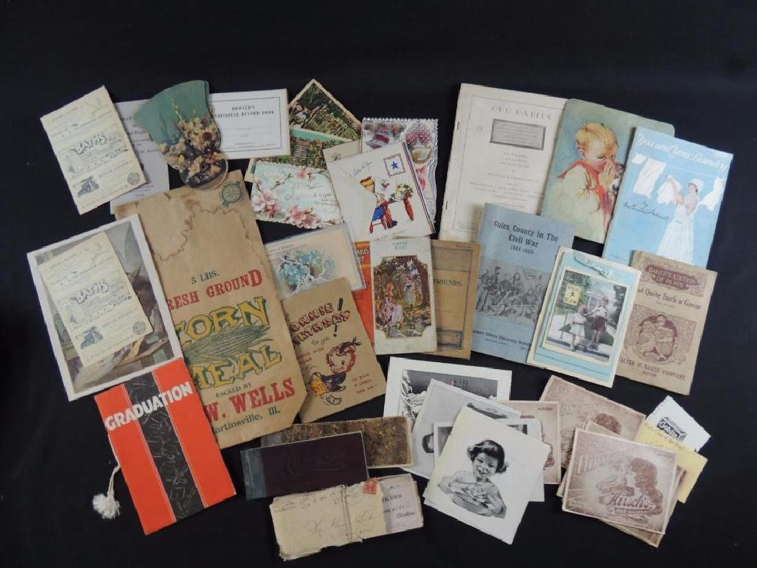 Group of Miscellaneous Ephemera Featuring Booklets,
