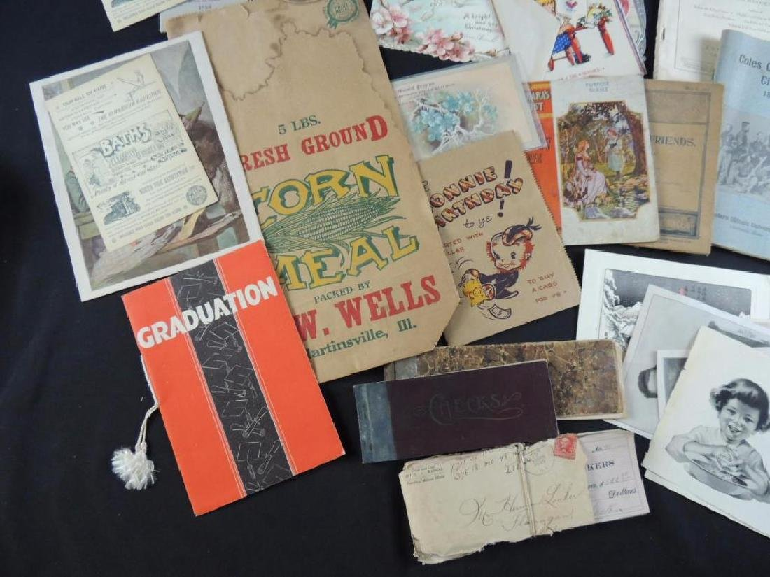 Group of Miscellaneous Ephemera Featuring Booklets, - 3