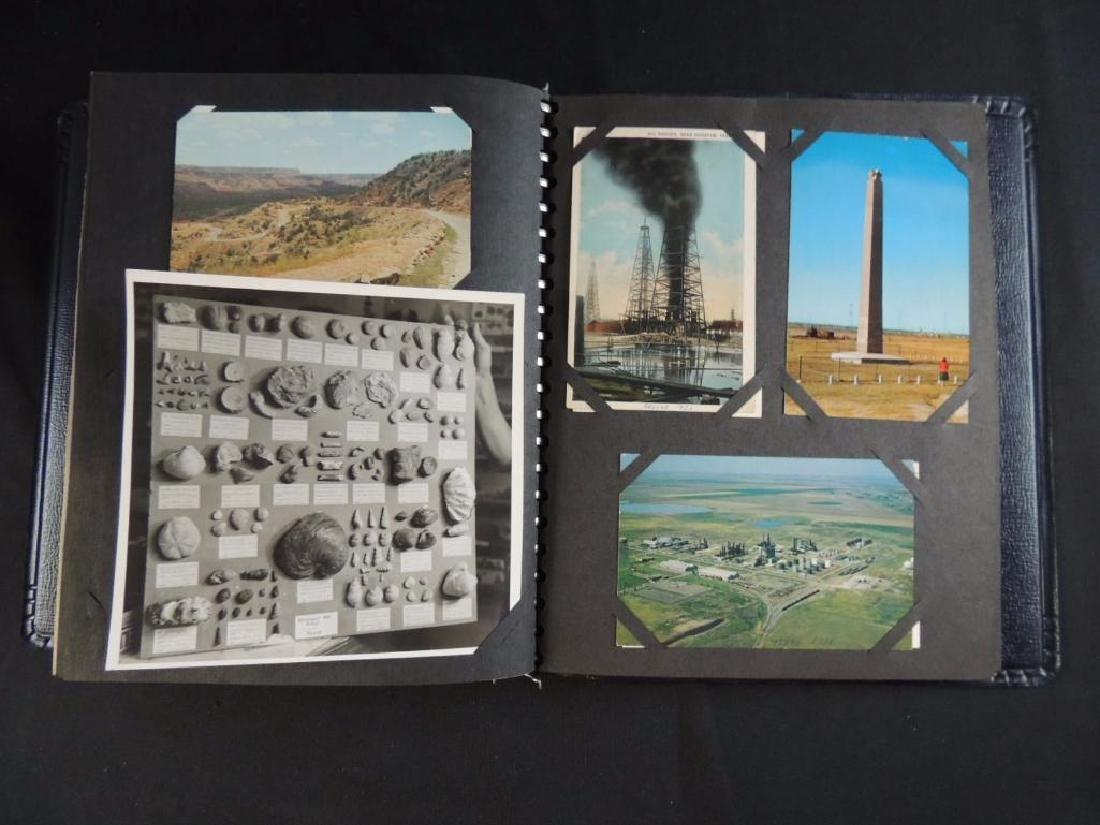 Postcard Album Featuring Approximately 50 Plus U.S. - 4