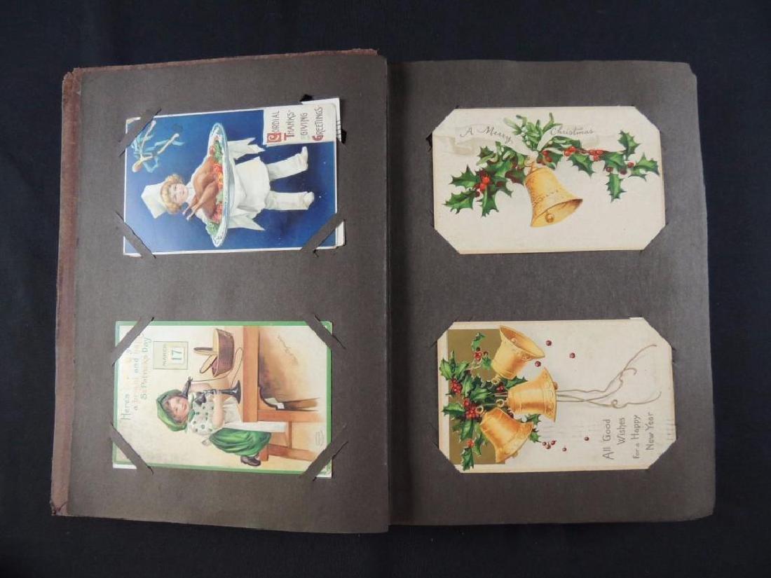 Ellen Capsaddle Holiday Postcard Album - 2