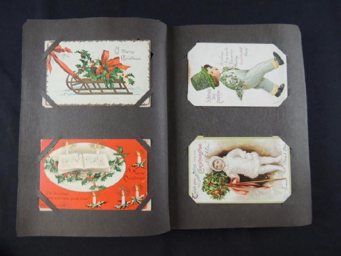 Ellen Capsaddle Holiday Postcard Album - 3