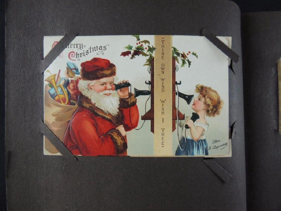 Ellen Capsaddle Holiday Postcard Album - 9