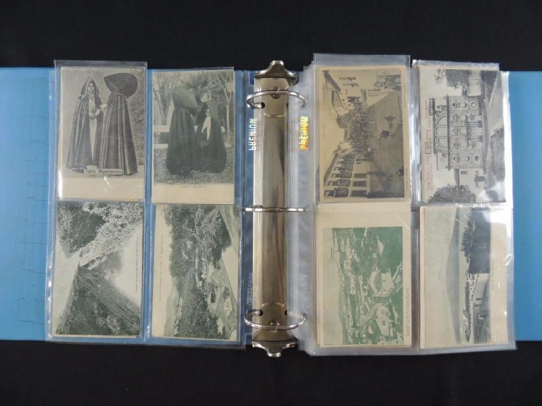 Postcard Album Featuring Approximately 130 Plus Azores - 2