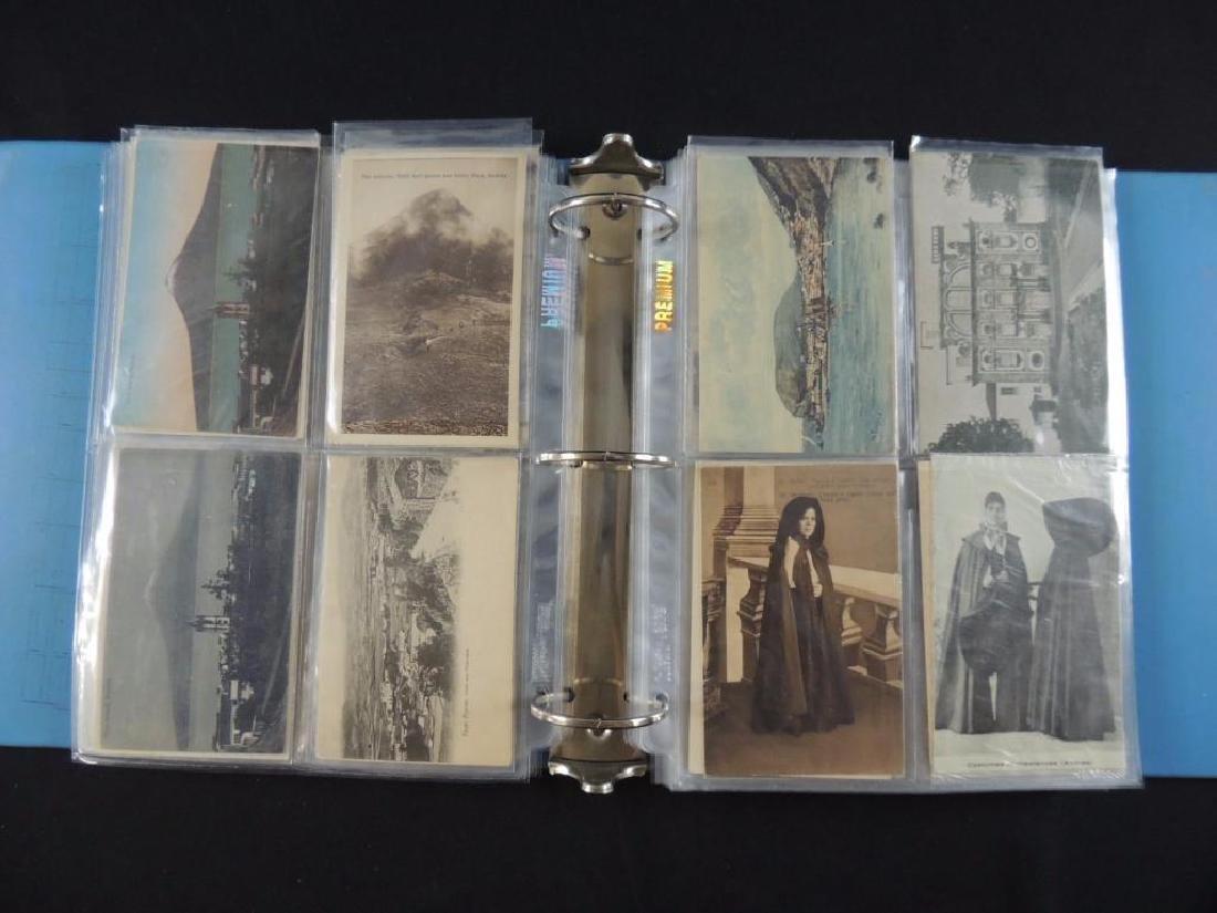 Postcard Album Featuring Approximately 130 Plus Azores - 6