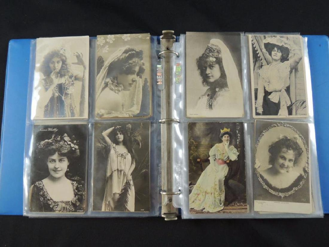 Postcard Album Featuring Approximately 80 Plus Early - 4
