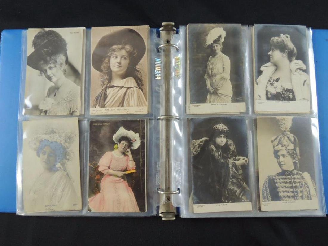 Postcard Album Featuring Approximately 80 Plus Early - 5