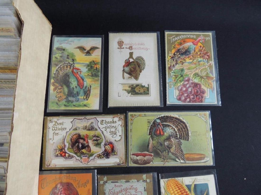 Approximately 350 Plus Thanksgiving Postcards - 2