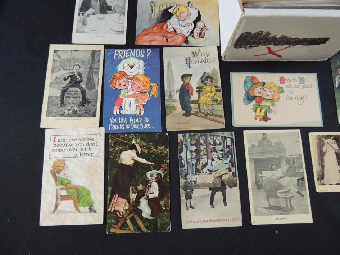 Approximately 700 Plus Comic and Humor Postcards - 2