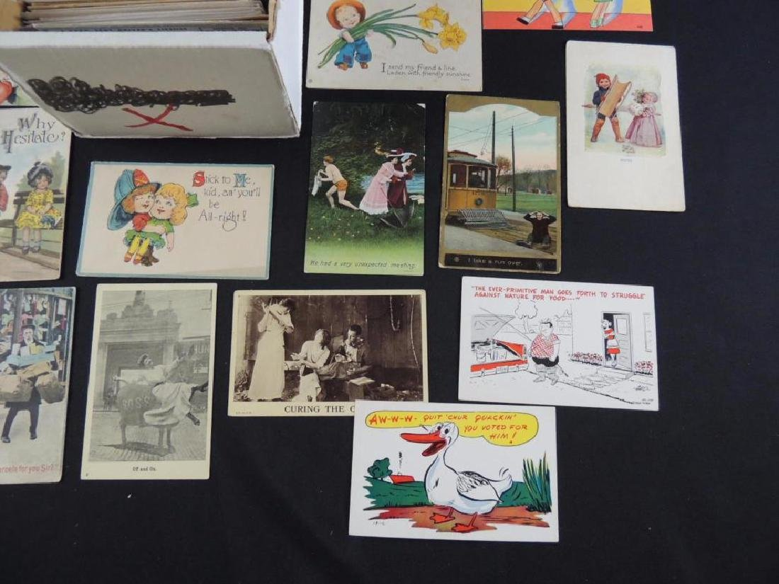 Approximately 700 Plus Comic and Humor Postcards - 5