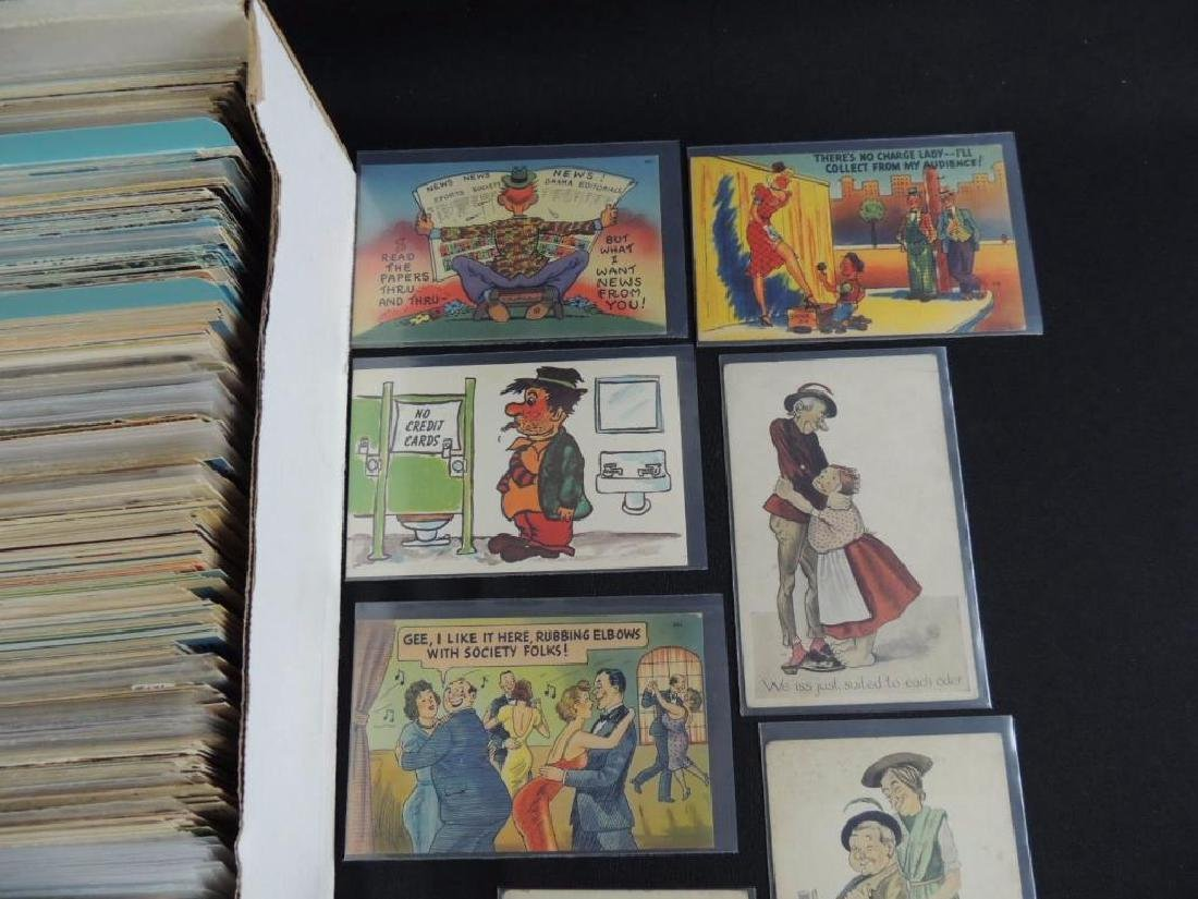 Approximately 700 Plus Topical Postcards - 2