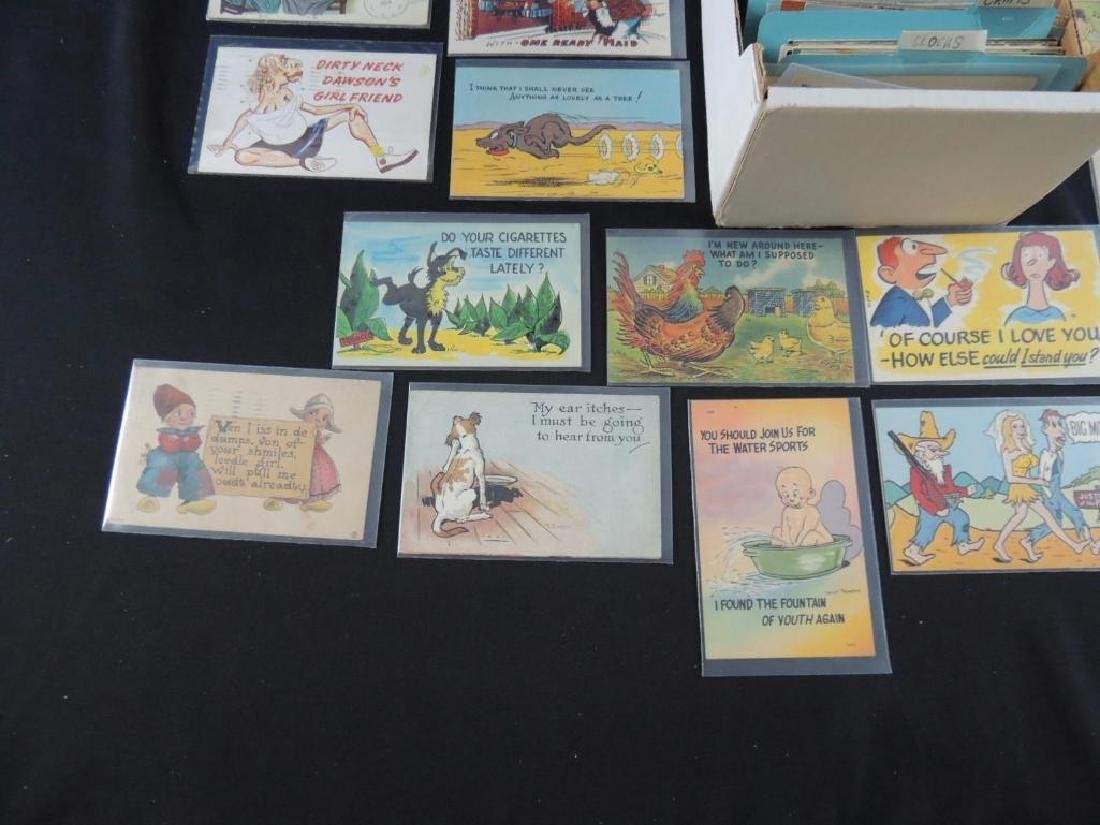 Approximately 700 Plus Topical Postcards - 4