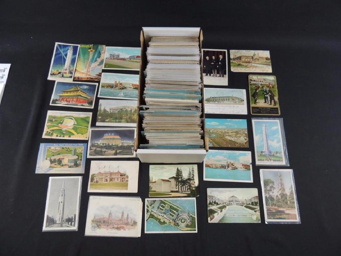 Approximately 700 Plus Topical Postcards