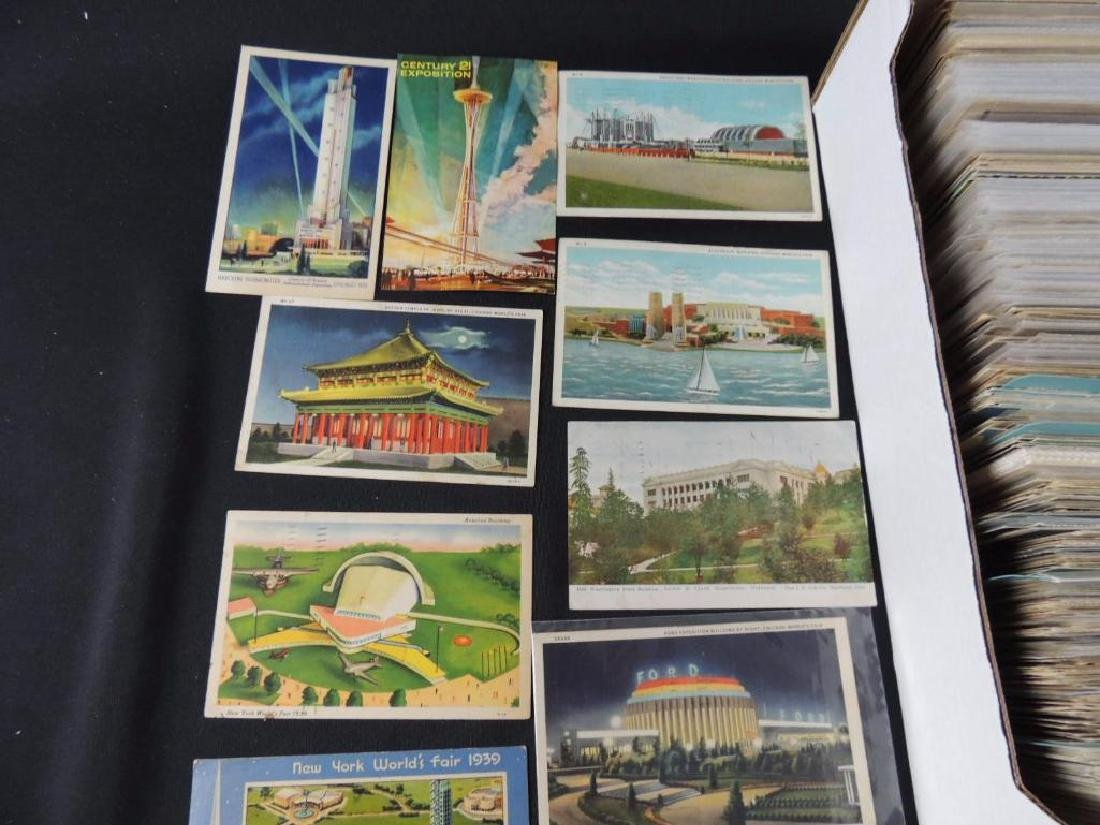 Approximately 700 Plus Topical Postcards - 5