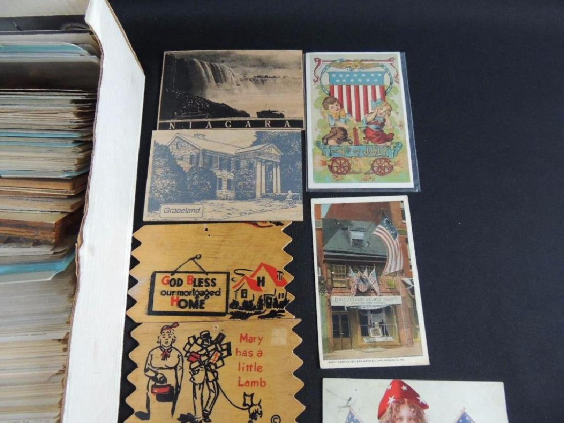 Approximately 500 Plus Topical Postcards - 2