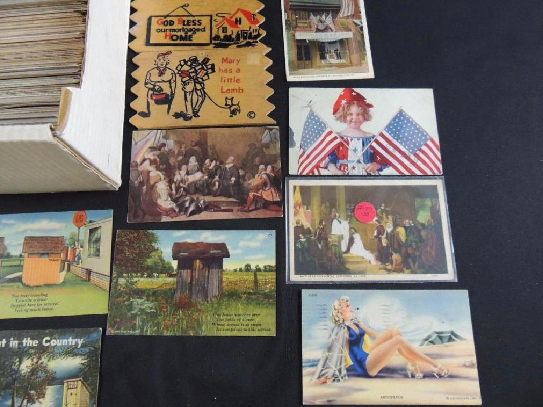 Approximately 500 Plus Topical Postcards - 3