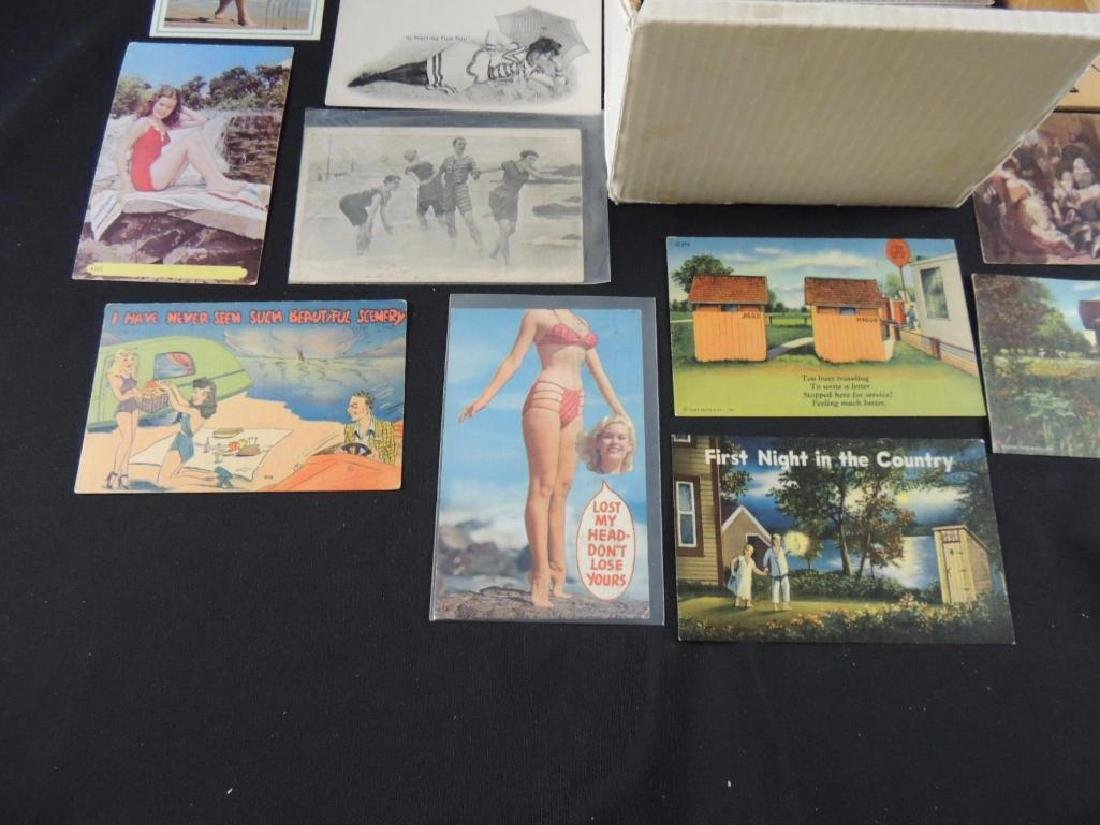 Approximately 500 Plus Topical Postcards - 4