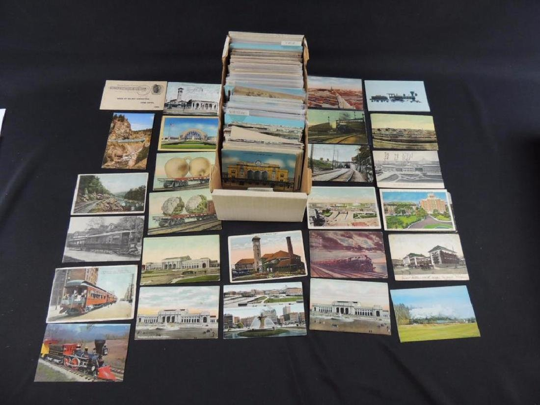Approximately 500 Plus Topical Postcards
