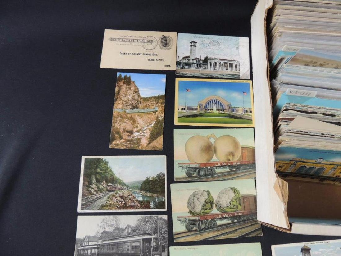 Approximately 500 Plus Topical Postcards - 6