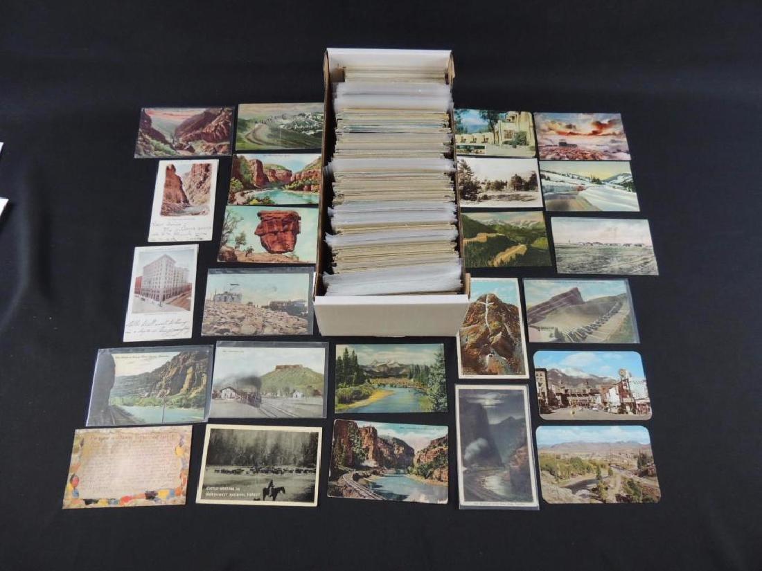 Approximately 700 Plus Colorado Postcards