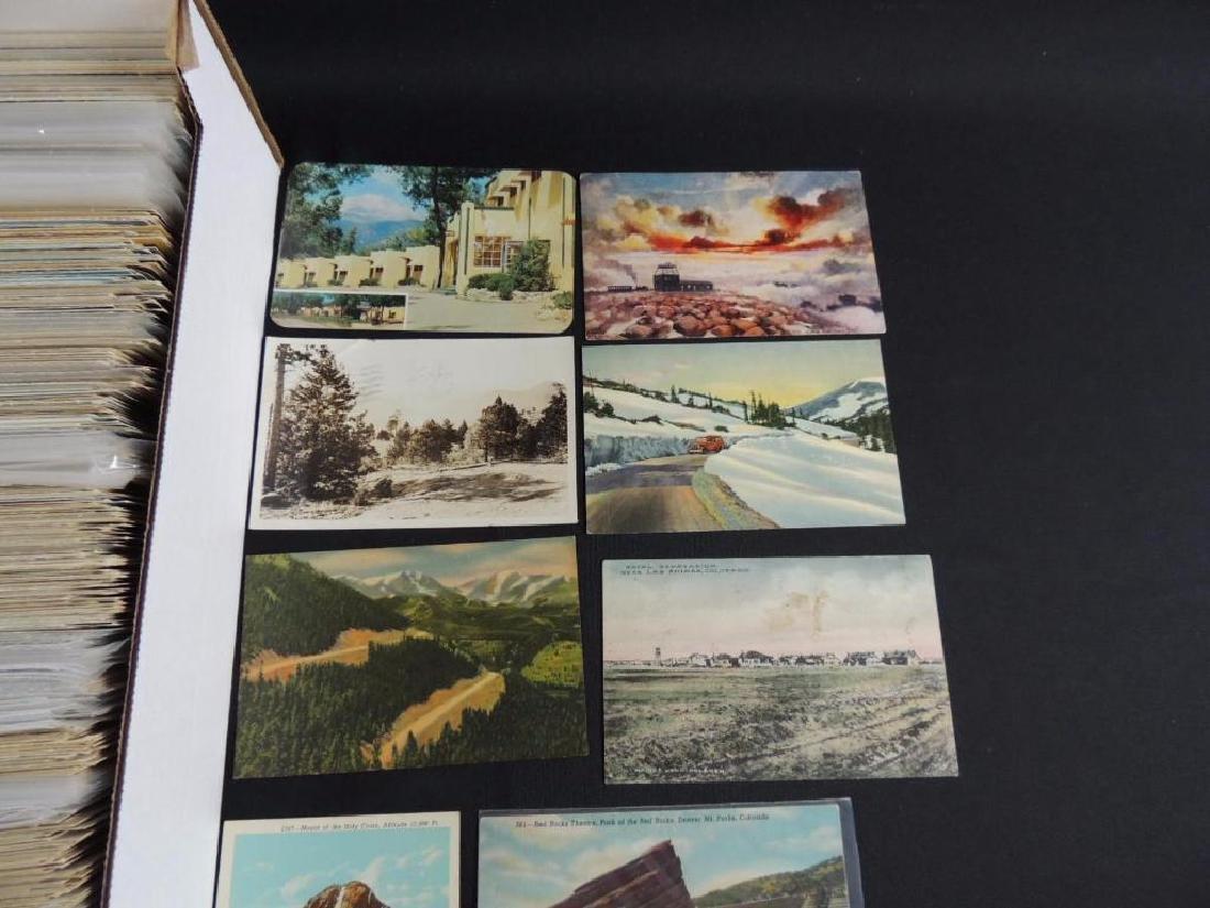 Approximately 700 Plus Colorado Postcards - 2