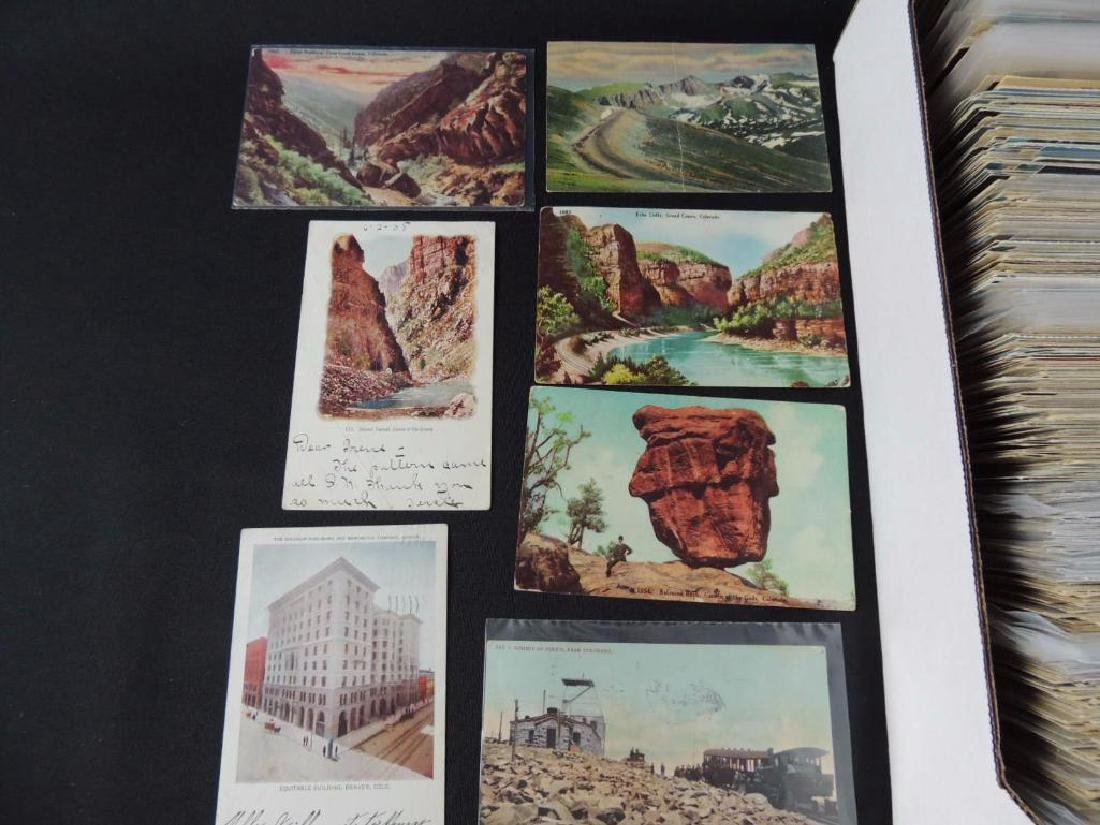 Approximately 700 Plus Colorado Postcards - 5