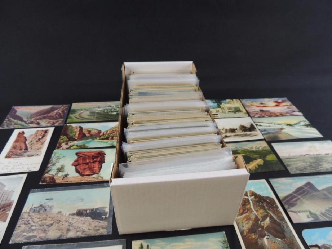 Approximately 700 Plus Colorado Postcards - 6