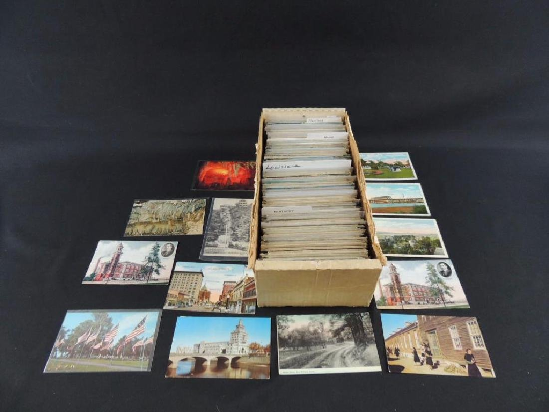 Approximately 700 Plus U.S. State Postcards