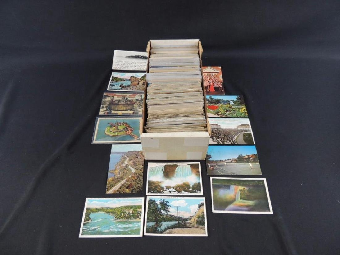 Approximately 600 Plus U.S. State Postcards