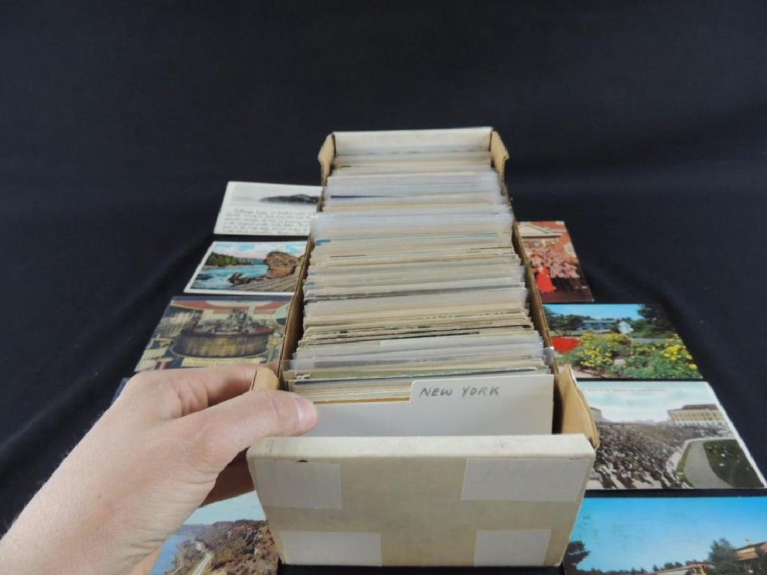 Approximately 600 Plus U.S. State Postcards - 2