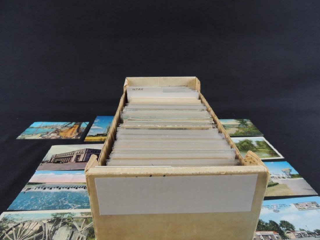 Approximately 700 Plus U.S. State Postcards - 2
