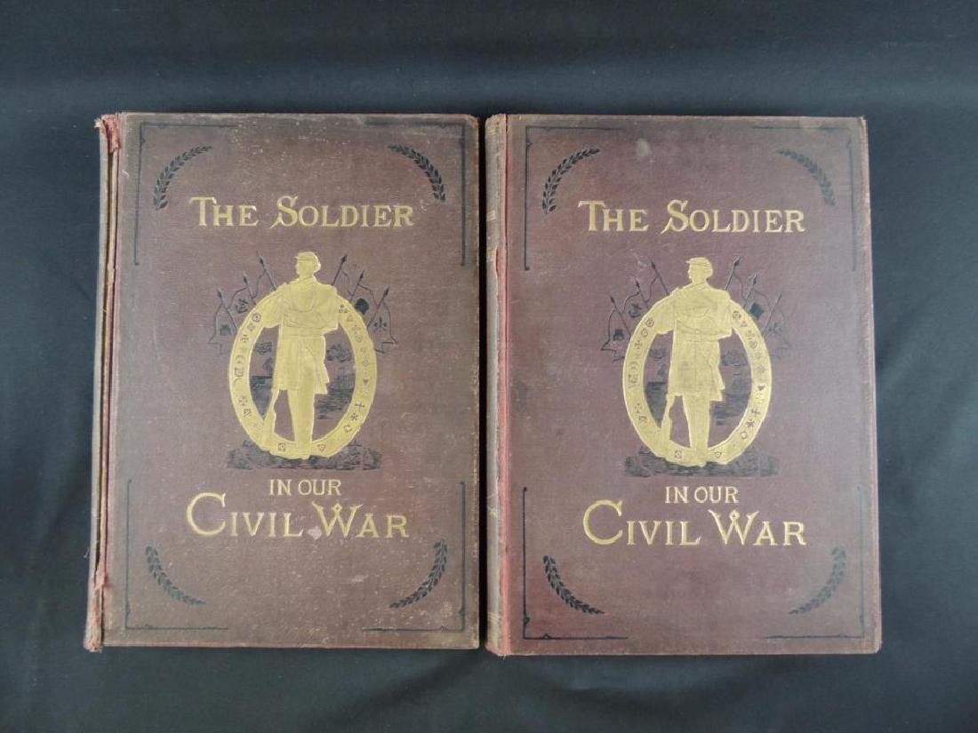 1885 The Soldier in Our Civil War Volumes 1 and 2