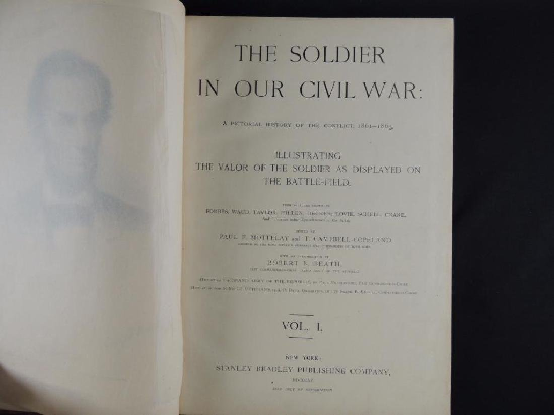 1885 The Soldier in Our Civil War Volumes 1 and 2 - 3