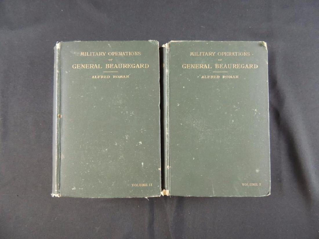 1883 Military Operations of General Beauregard by